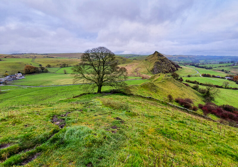 Chrome Hill views to Parkhouse Hill