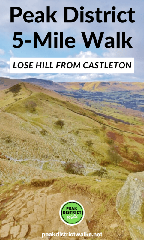 Lose Hill walk from Castleton in the Peak District 3