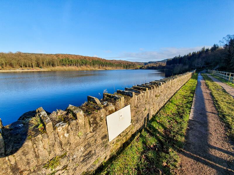 Ridgegate Reservoir in Macclesfield Forest
