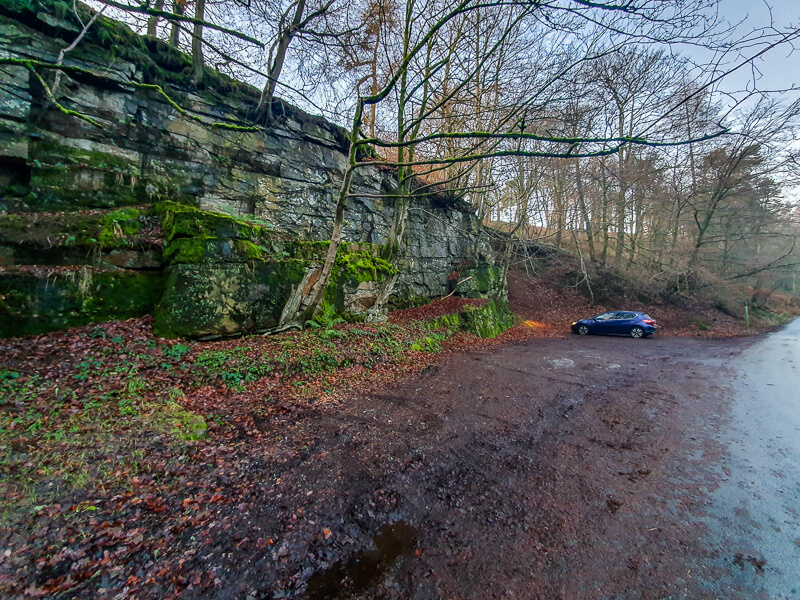 Parking at Wildboarclough