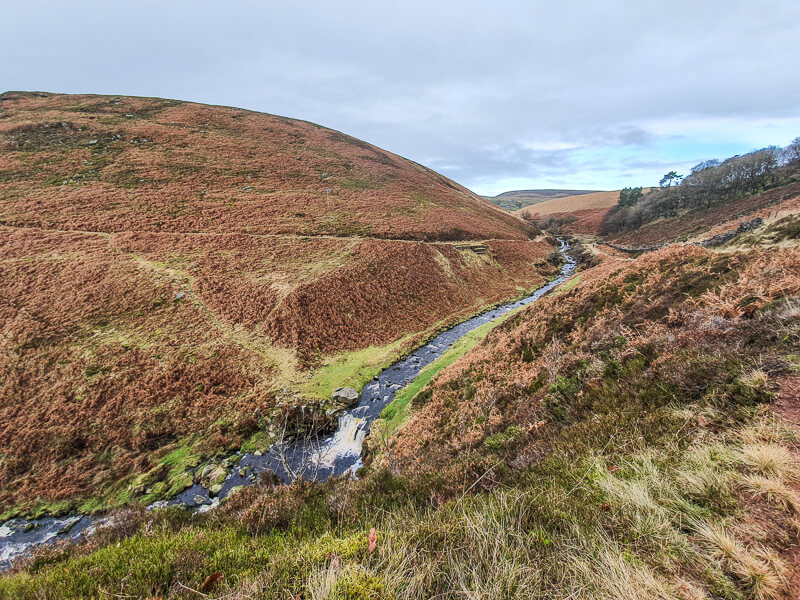 Following the River Dane to Three Shires Head
