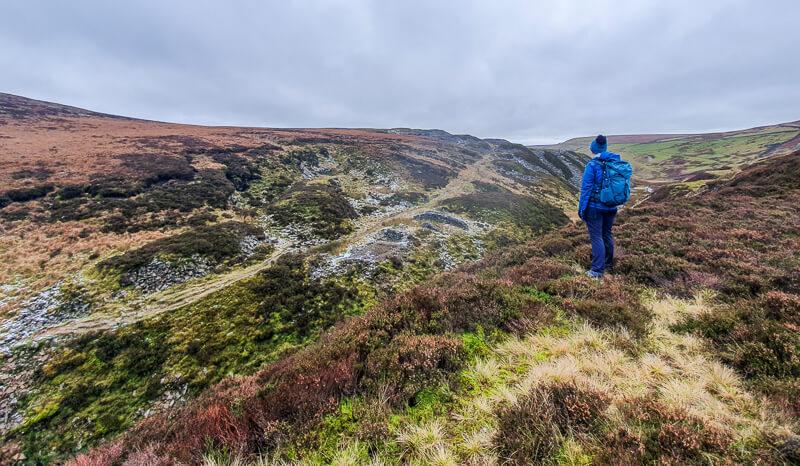 Views on the Three Shires Head walk