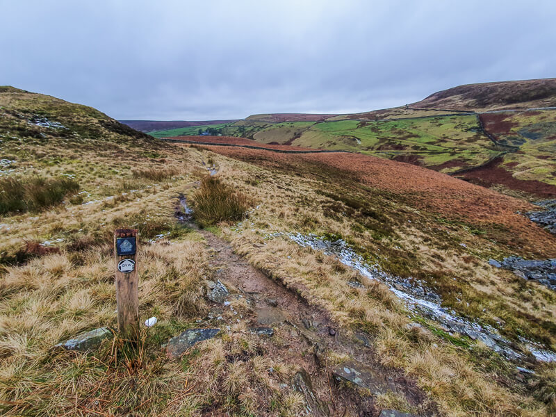 Following the Dane Valley Way national trail