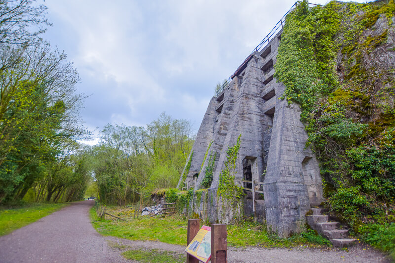 East Buxton Lime Kiln on Monsal Trail