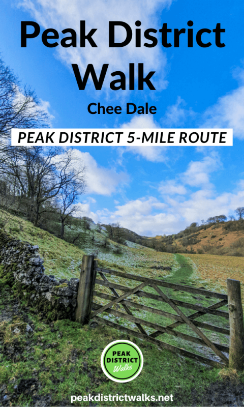 Chee Dale walk in Peak District