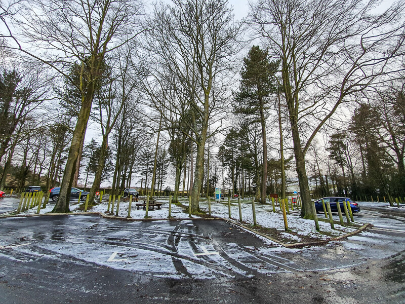 Langsett Reservoir car park