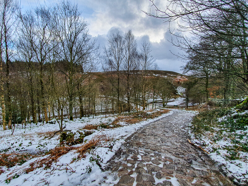 Path leading to the end of Langsett Reservoir