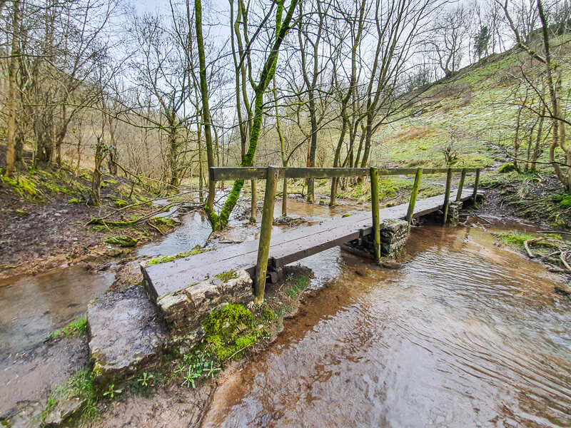 Bridge along Monk's Dale