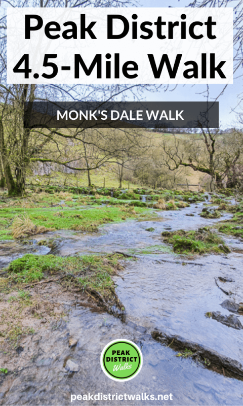 Monk's Dale short walk Peak District
