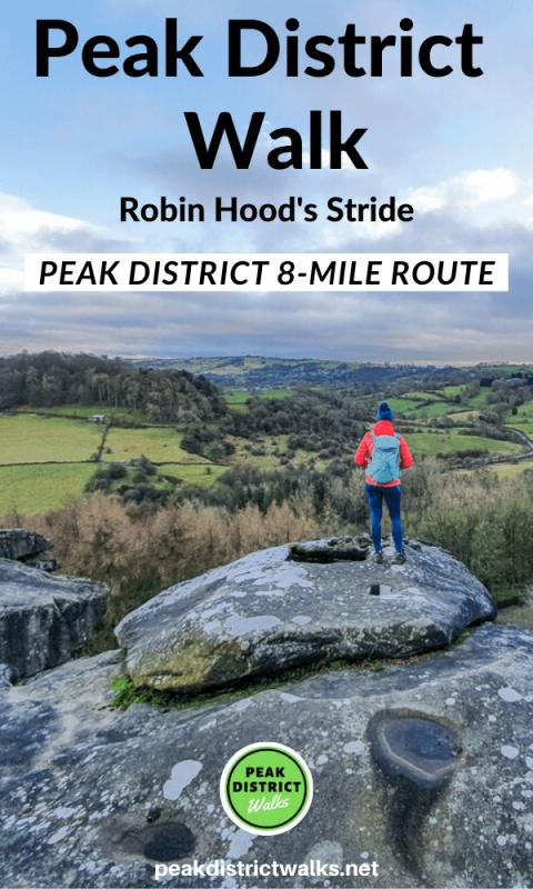 Robin Hood's Stride walk views