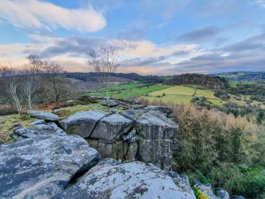 Robin Hood's Stride walk Peak District