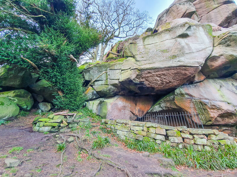 Hermit's Cave in the Peak District