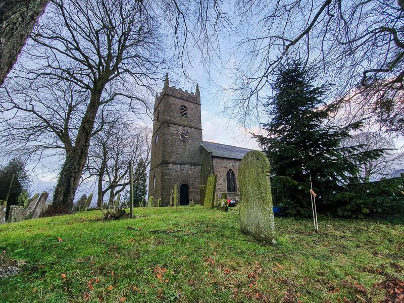 Church in Elton village, Peak District