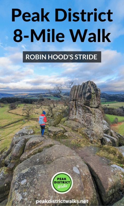 Robin Hood's Stride walk Peak District