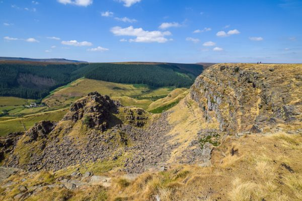 Alport Castles Peak District