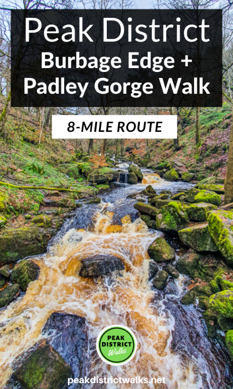 Padley Gorge walk Peak District