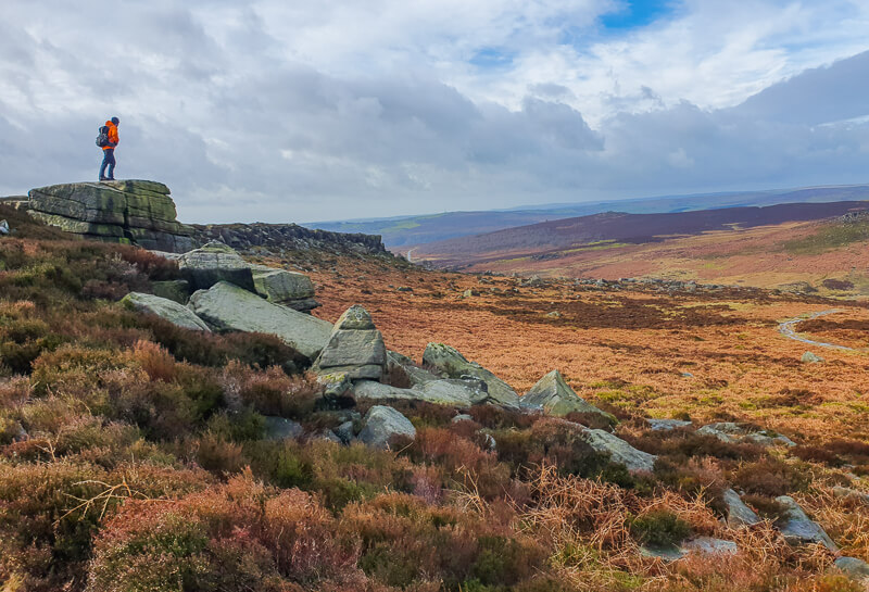 Burbage Edge Peak District