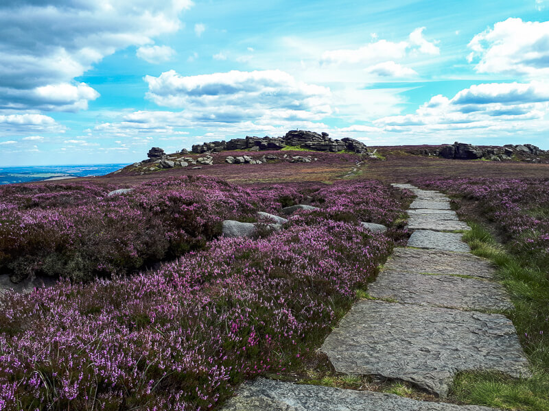 Derwent Edge walk Peak District