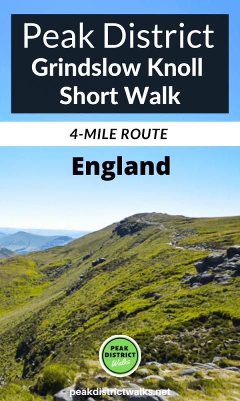 Grindslow Knoll walk Peak District