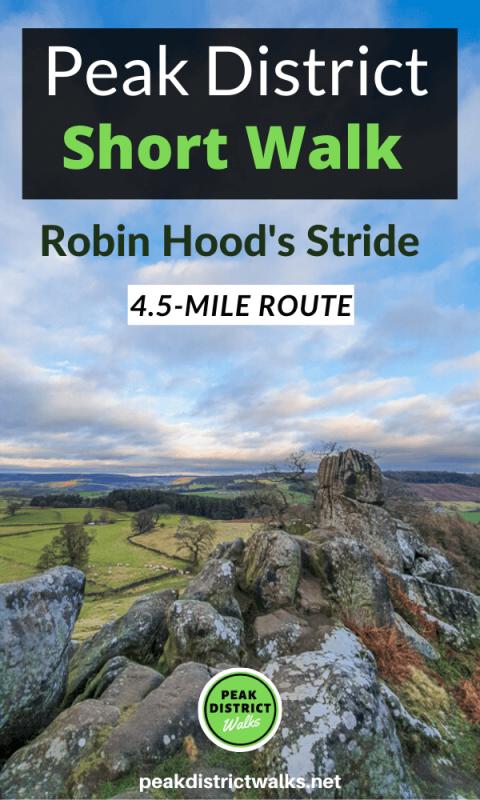Robin Hood's Stride Short walk Peak District