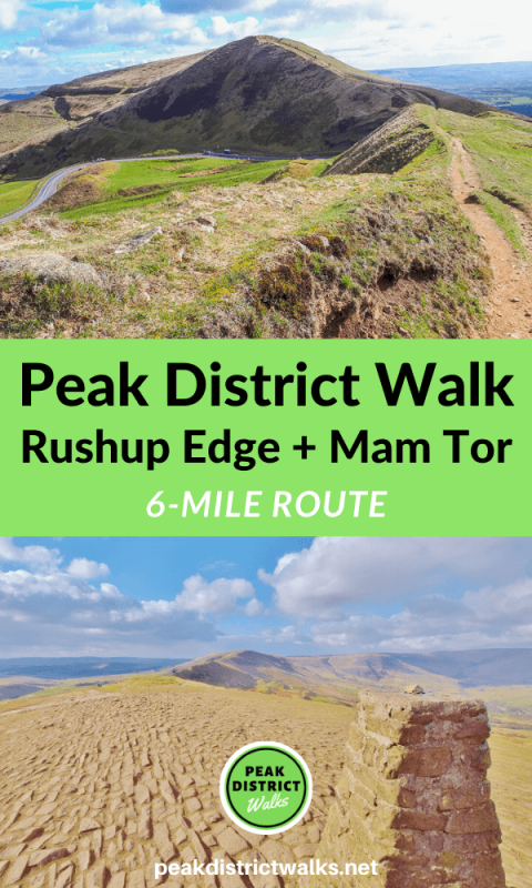 Rushup Edge and Mam Tor walk Peak District