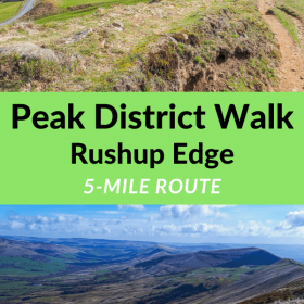 Rushup Edge walk Peak District