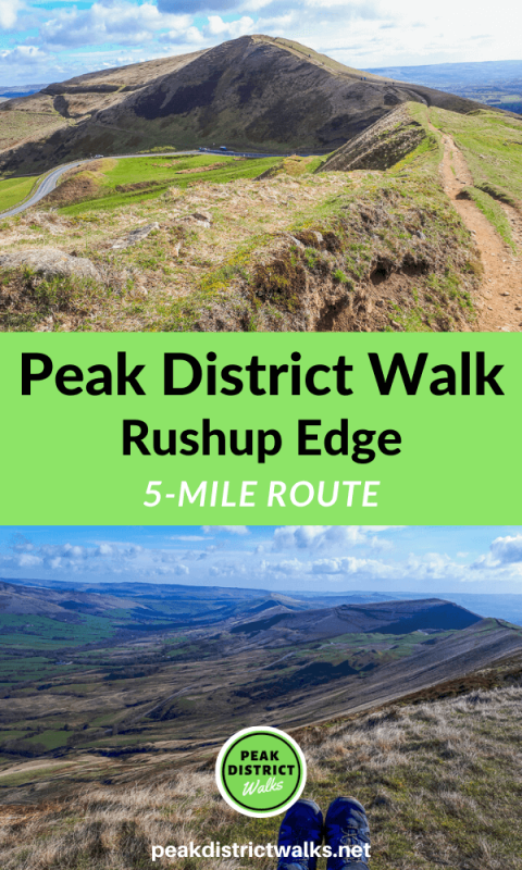Rushup Edge walk Peak District
