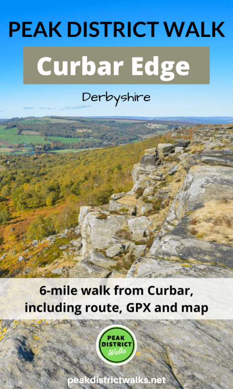 Rocks and views from Curbar Edge