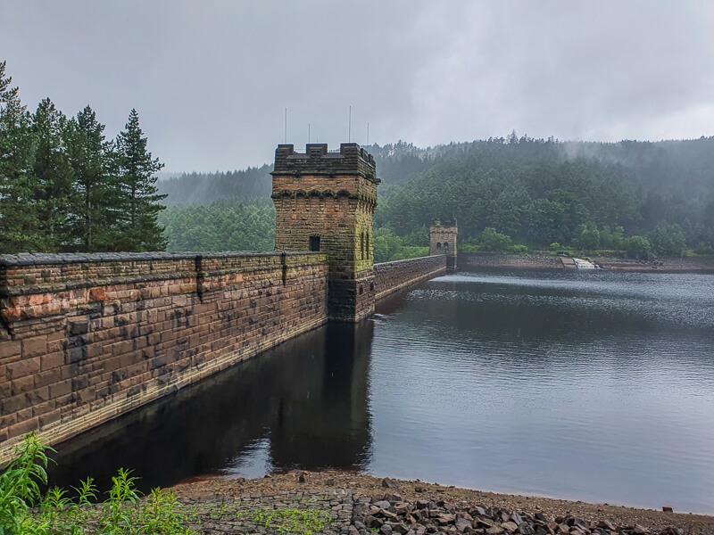 Derwent Dam + Upper Derwent Reservoir