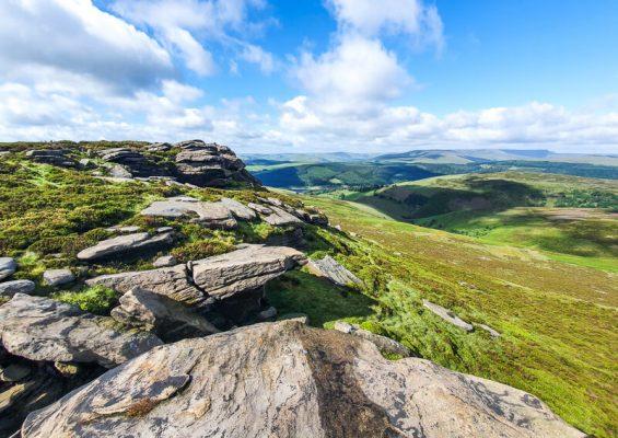Rocks on Derwent Edge