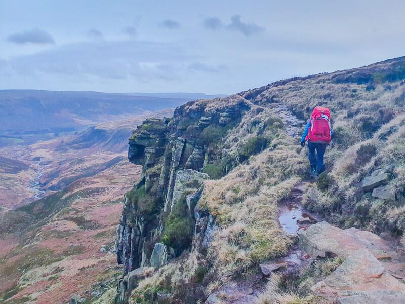 Rocks and path