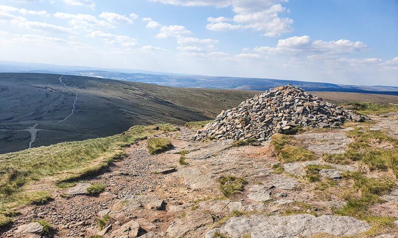 Cairn on Pennine Way