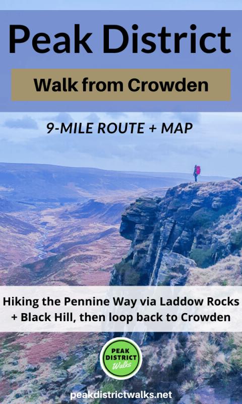Laddow Rocks in Peak District