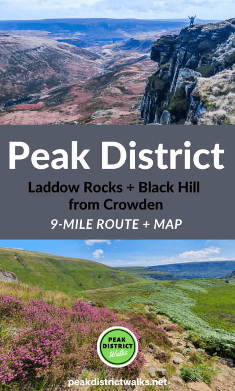 Laddow Rocks and Black Hill walk