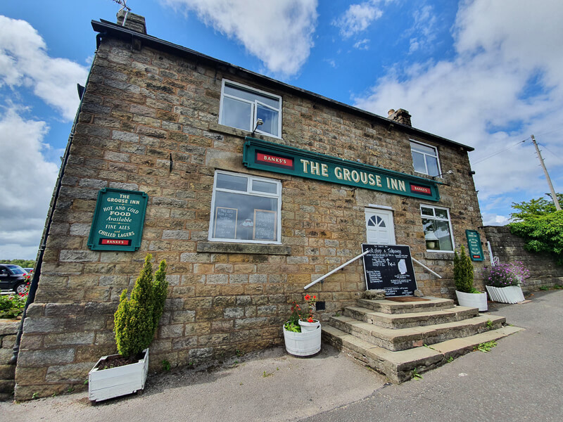 The Grouse Inn pub