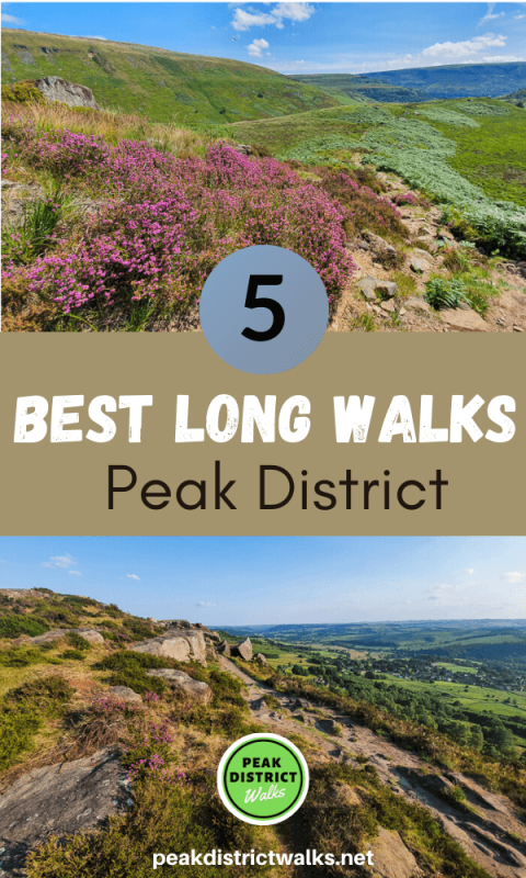 Photos of scenery in Peak District