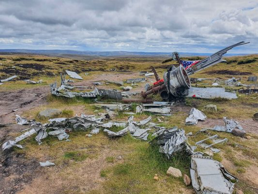 Bleaklow Plane Crash Site