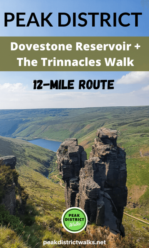 Trinnacles - Rocks at Dovestone Reservoir