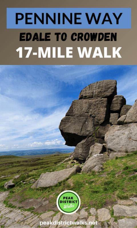 Edale Rocks on Pennine Way