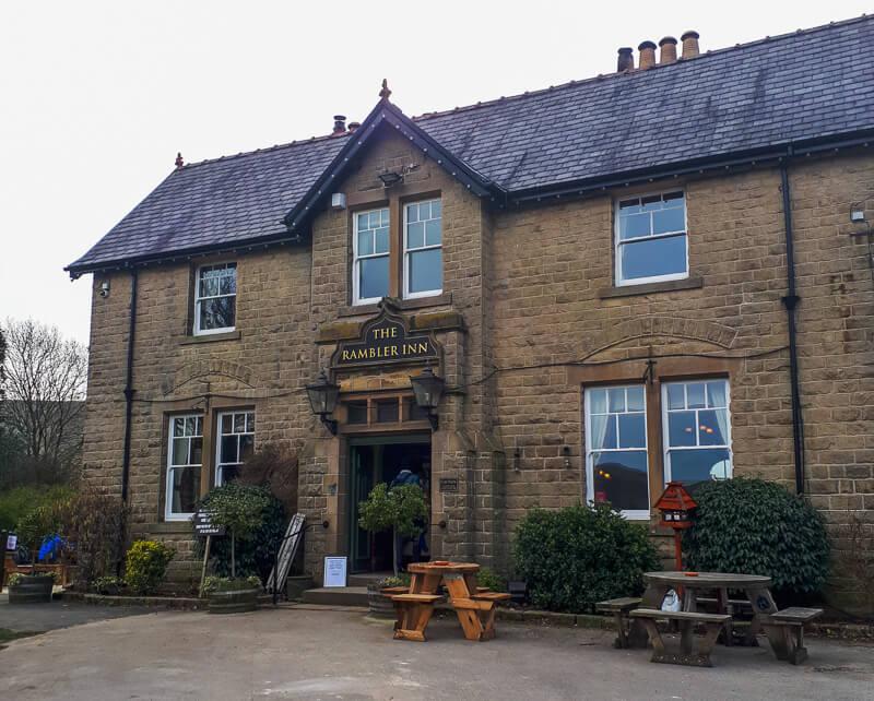 Ramblers Inn pub Edale