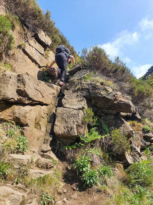 Rocks on Birchen Clough