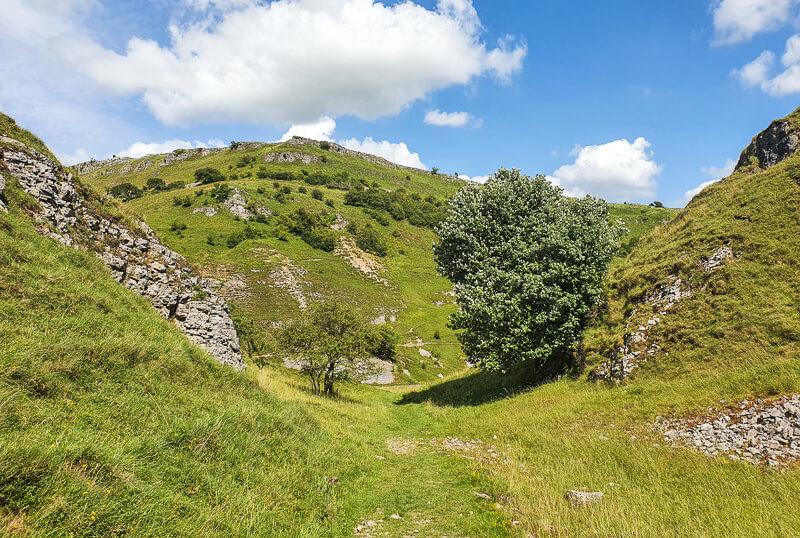 Hills in Derbyshire Dales
