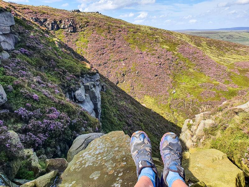 Feet and views