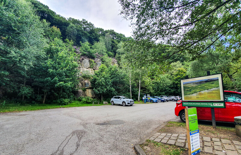 Bowden Bridge car park Hayfield