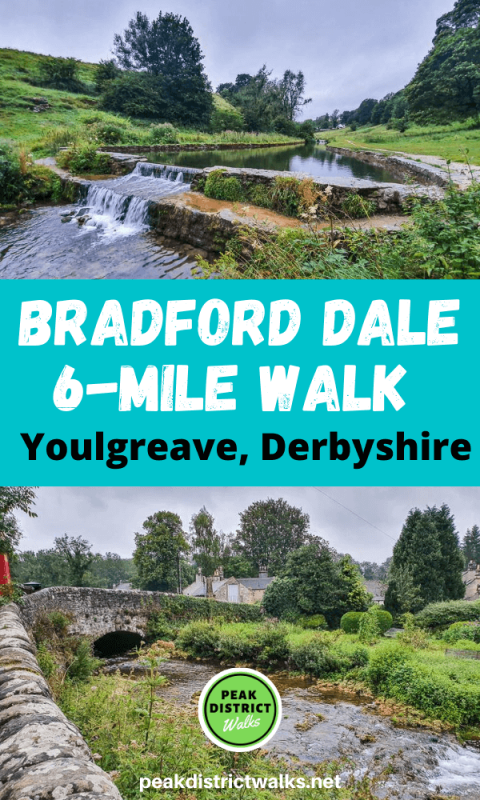 Bradford Dale walk in Peak District