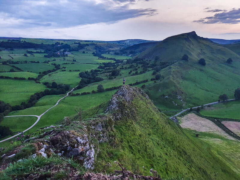 Views from Parkhouse Hill to Chrome Hill