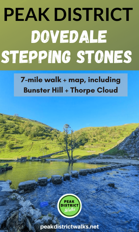 Dovedale stepping stones walk