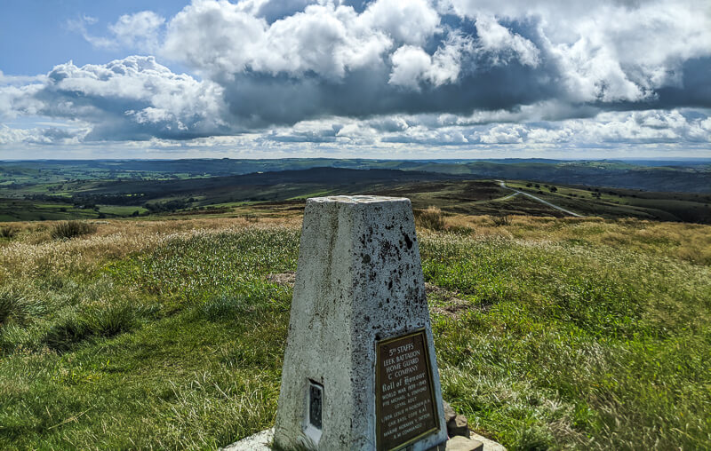 Merryton Low trig point