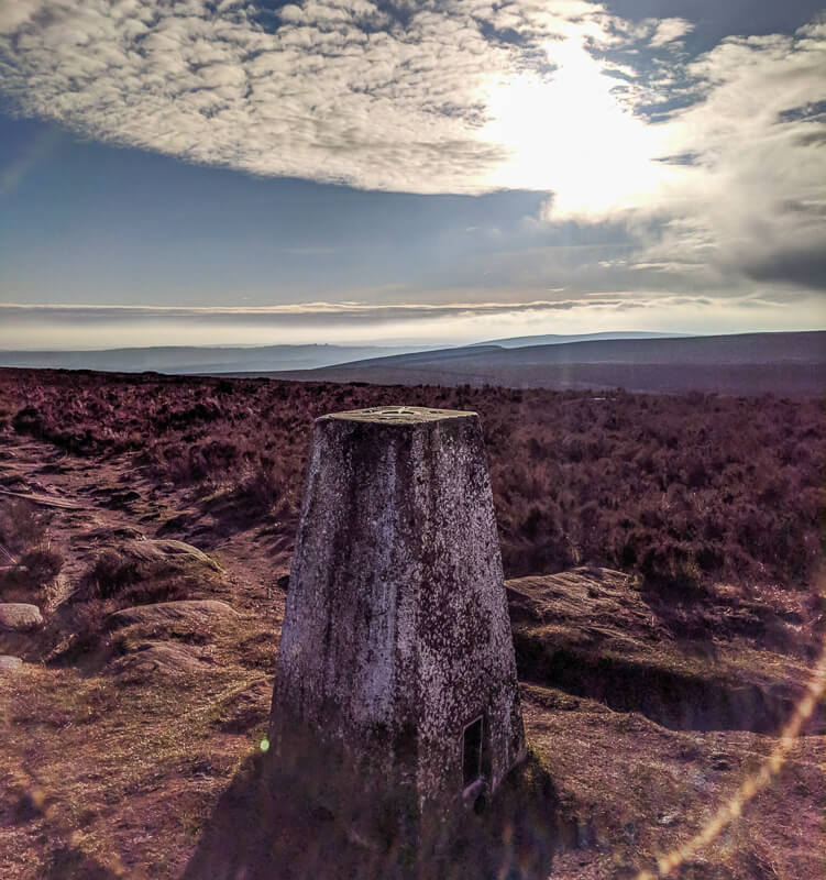 Ox Stones trig point