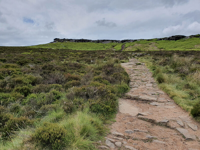 Footpath up to Stanage Edge